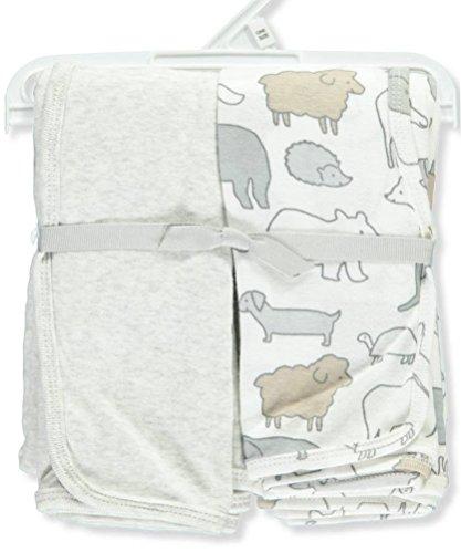 Carters 2 Pack Monster Swaddle Blanket