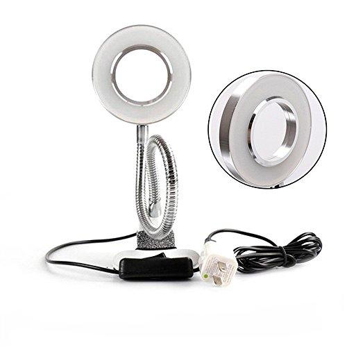 (EZTAT2 Desk Lamp Clip Microblading USB Light Lamp Portable LED Desk Light for Tattoo Permanent Makeup Lip Eyebrow Beauty Salon)