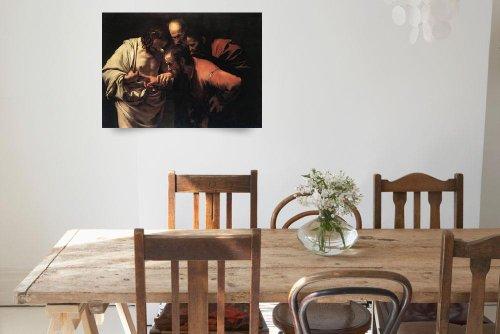 Caravaggio The Incredulity Of Saint Thomas (Giclee Art Print), Leo KL