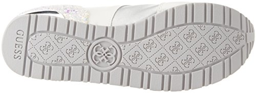Denk Damen Schoeisel Jurk Actieve Sneaker Bianco (wit)