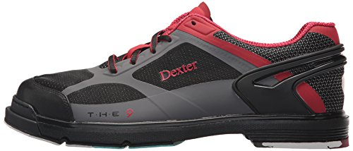 5 Dexter 9 The Black Red Grey Bowling 9 HT Men's Shoes Size PHPwT