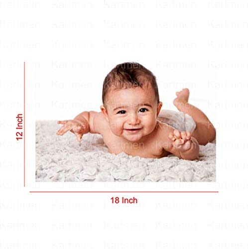 KARTMEN Combo of HD Cute Smiling Baby Poster for Pregnant Women Room Decor (300GSM Thick Paper, Gloss Laminated, Multicolour) – Set of 6