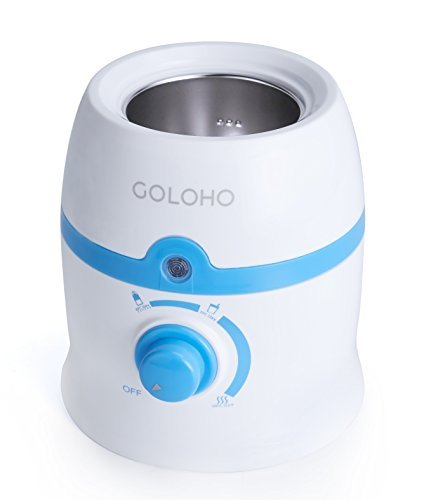 Baby Bottle Warmer with Stainless Steel Warming Chamber and Bonus Gifts, Handy...
