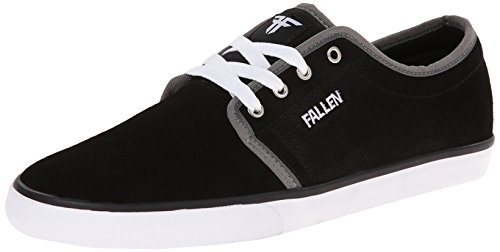 Fallen Forte 2 Skate Shoe,Black/White/Grey,7 M US