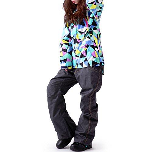 ICEPARDAL(アイスパーダル)全20色柄スノーボードウェア上下セットIC-SETIC-1009号サイズレディーススノボウェアスキーウェアウエア女性用おしゃれかわいい15-16新作