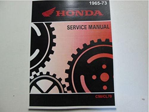 1971 1972 1973 HONDA C50 C50M CL70 CD70 C65 C65M C70 S50 S65 C70M Service Manual