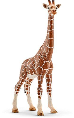 Schleich Female Giraffe Toy Figure (Renewed) ()