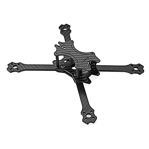 KINGDUO Realacc Flywin 220mm Wheelbase 4mm Arm Carbon Fiber RC Drone FPV Racing Frame Kit w  5 12V PDB Board