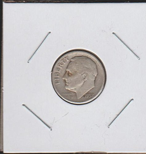 1952 Silver Dime - 1952 D Roosevelt (1946-to Date) Dime Very Good