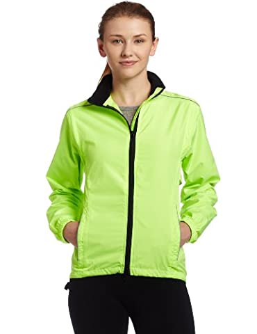 Canari Cyclewear Women's Tour Jacket Cycling Jacket (Killer Yellow, Medium) - Canari Cycling Apparel