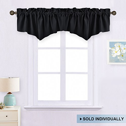 Window Dressing Blackout Valance Curtain - Home Decoration W52