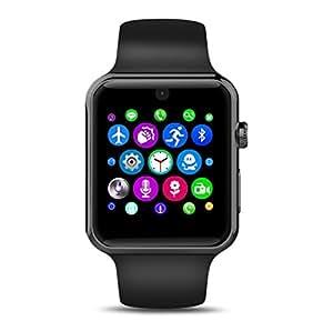 LEMFO Lf07Reloj Inteligente Bluetooth 2.5d Arc HD de pantalla Tarjeta SIM Soporte Portátil SmartWatch para dispositivos iOS y Android