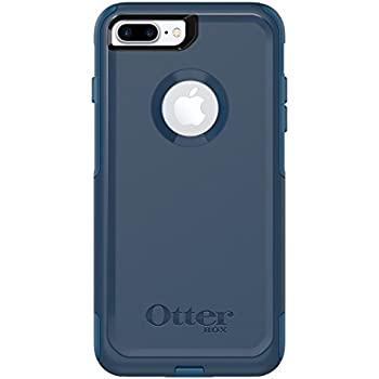 OtterBox COMMUTER SERIES Case for  iPhone 8 Plus & iPhone 7 Plus (ONLY) - Frustration Free Packaging - BESPOKE WAY (BLAZER BLUE/STORMY SEAS BLUE)