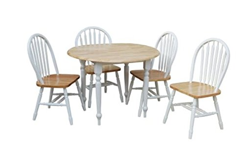 tms drop leaf dining set