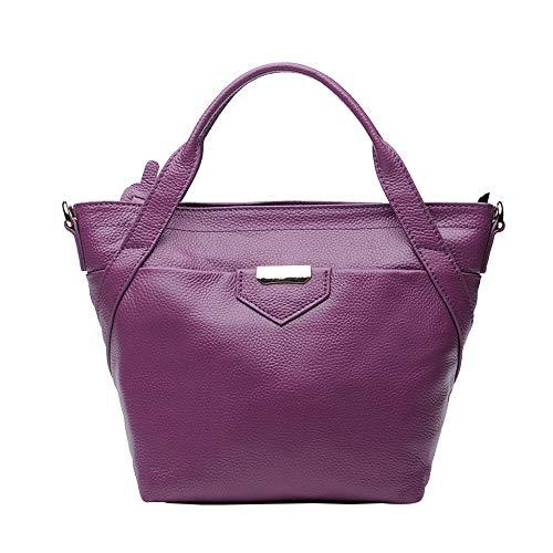 Main Casual Top Large En Purple Sacs Sacs Cuir à Bandoulière à Femmes Pour Mode Handle Décontractés 5xwzwB8q