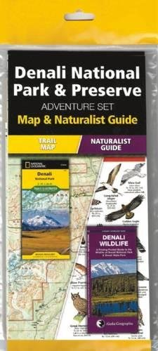 Denali National Park & Preserve Adventure Set: Map and Naturalist Guide
