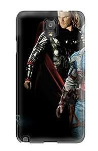 Hot Design Premium ANYmWub8022wZoRq Tpu Case Cover Galaxy Note 3 Protection Case(avengers)