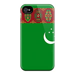 New Iphone 6 Cases Covers Casing(turkmenistan Flag)