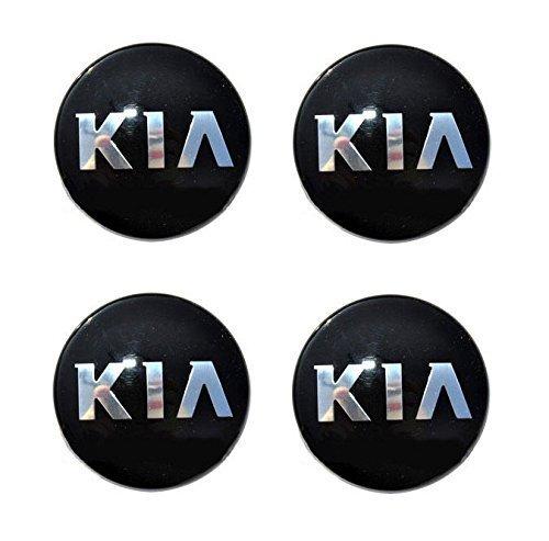 YCHGLC 58mm HubCaps Center Hub Wheel Cap Cover Emblem for Kia Optima Rio Soul SPORTAGE 529603W200 K5 4-pc Set