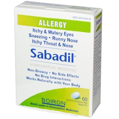 Boiron Sabadil For Allergy