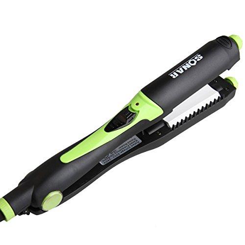 Oenbopo 4in1 Rotating Multi-plate Styler Aluminum Hair Curler Straighter 2 Crimper