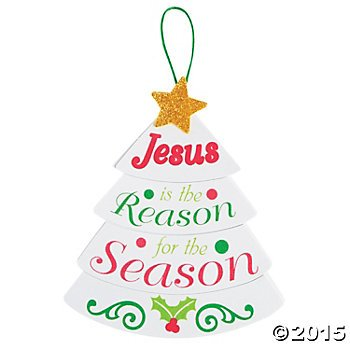 Amazon Com 12 Christmas Jesus Is The Reason Craft Making Kits