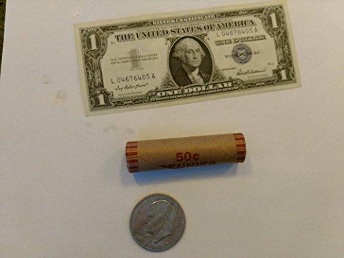 Dollar Roll Eisenhower (1972 Various Mint Marks Eisenhower Dollar Coin Circulated)
