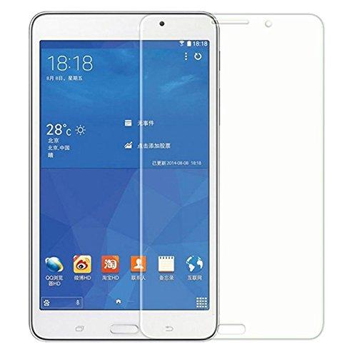 König-Shop Panzer-Schutz-Glas für 2 x Samsung Galaxy Tab 4 7.0 SM-T230 Displayschutzfolie 9H Verbundglas Schutzfolie Kratzsch