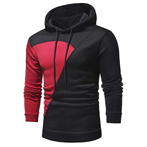 Rojo Tama Outwear de Sudadera con grande Top Top capucha hombres Aimee7 Abrigos para empalme o ww4TB6qSp
