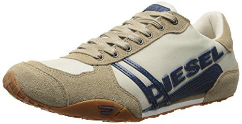 Diesel Mens Harold Nylon/Leather Fashion Sneaker