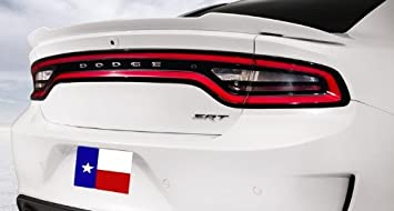 2015+ Dodge Charger Hellcat Factory Rear Spoiler Unpainted Primer