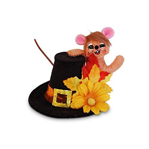 Annalee - 3in Pilgrim Hat Mouse