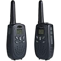 TaoHorse Walkie Talkies Long Range VOX UHF 22 Channel Handheld Two Way Radios for Travel Hiking Hunting Outdoor Adventures, 2 Pack
