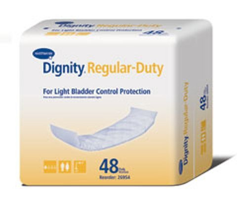 Humanicare Dignity Regular Duty Pad/Liner 4X12 - Pack of 48 - Model 26954