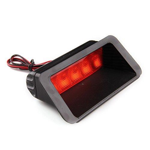 Car Brake Tail Light,POSSBAY Universal Car Red Taillight 5 SMD LED 12V Third 3RD Brake Stop Lamp