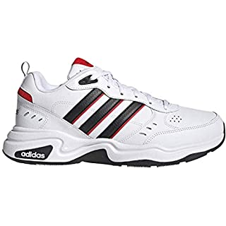 adidas Men's Strutter Cross Trainer, White, 9 M US
