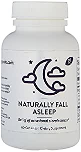Natural Sleep Aid Supplement, Have the Best Sleep in a Long Time and Wake Up Refreshed, 60 Capsules
