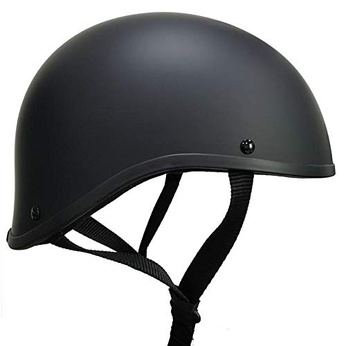 Crazy ALS Maltese SOA Worlds Smallest Helmet Limited Edition Size Large (Flat Black, l)