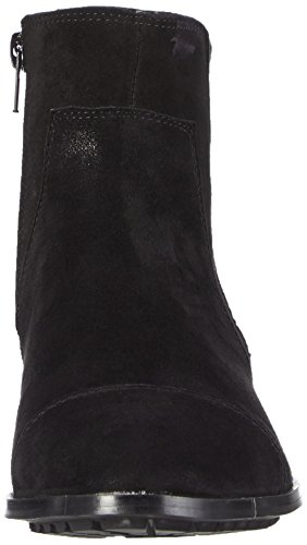 Negro Chelsea Mujer Botines Negro de Cuero Giudecca 1 JY1525 aqOWg0