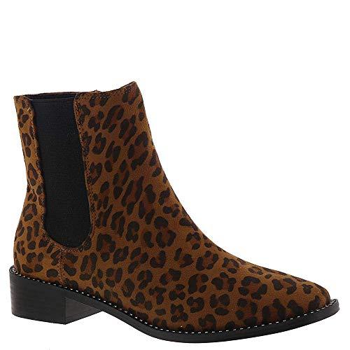 (bebe Womens Midolo, Leopard Suede, Size 7.5)