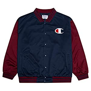 Champion Mens Jacket Big and Tall Jackets for Men Varsity Bomber Jacket Men