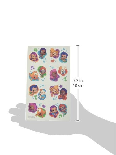 amscan Tattoo Favors | Bubble Guppies Collection | Party Accessory | 192 Ct. by amscan (Image #2)