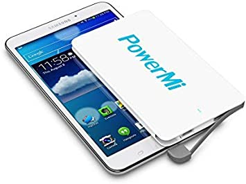 PowerMi Batería Externa Móvil Ultra Delgada 4000 mAh: Amazon ...
