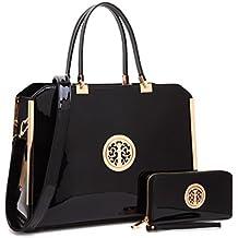 MMK collection Women Fashion Matching Satchel handbags with wallet(2597/0326)~Designer Purse for Women ~ Perfect Women Purse and wallet~ Beautiful Designer Handbag Set