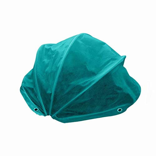 Agfabric Plant Cover Shrub Jacket – 1.5 oz 15.5″ H x 31″ Dia Frost Protection Cover, Hemispheric Plant Cover for Freeze Protection, Dark Green