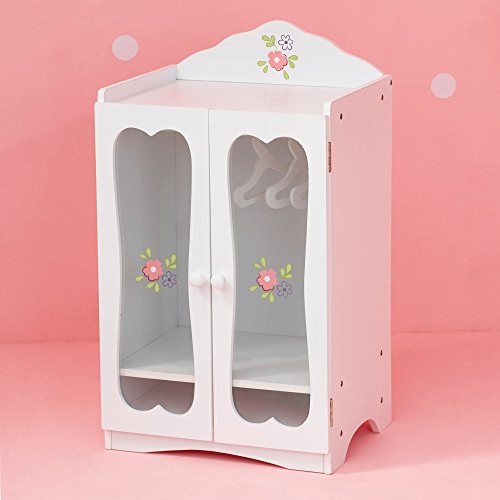 Olivia 39 S Little World Princess Classic Wooden Closet With 3 Import It All