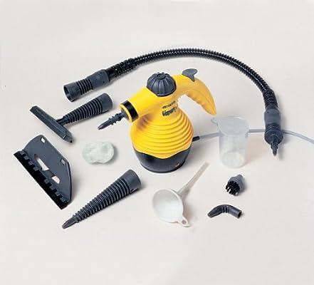 Ariete 4103 Limpiador a vapor, 900 W, plástico, Acero, Negro/Amarillo: Amazon.es: Hogar