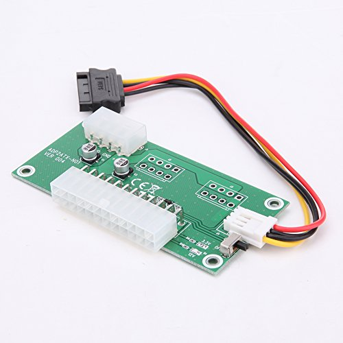 lovely ATX 24-Pin Dual PSU Power Synchronous Start, Mining