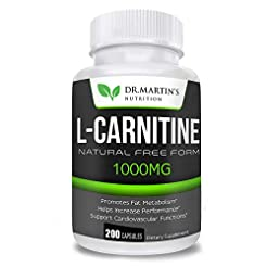 Extra Strength L-Carnitine - 200 Capsule...