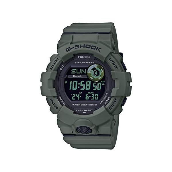 Casio Reloj Digital para Hombre con Correa en Resina 2